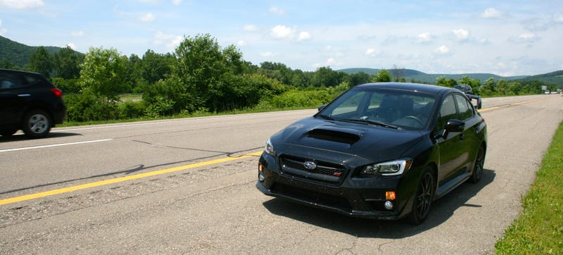 A Road Trip In The 2015 Subaru WRX STI Was The Best Idea Ever
