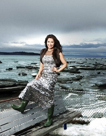 Bristol Palin Goes High Fashion, Concedes Hockey-Mom Fate