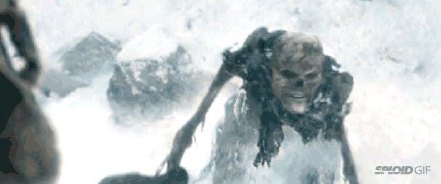 Yesterday's epic skeleton battle scene in Game of Thrones