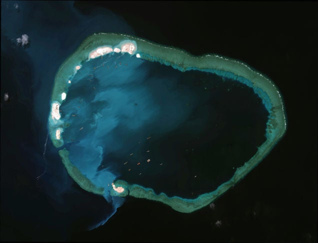 China's Dredging In the South China Sea Created 2,900 Acres of New Islands