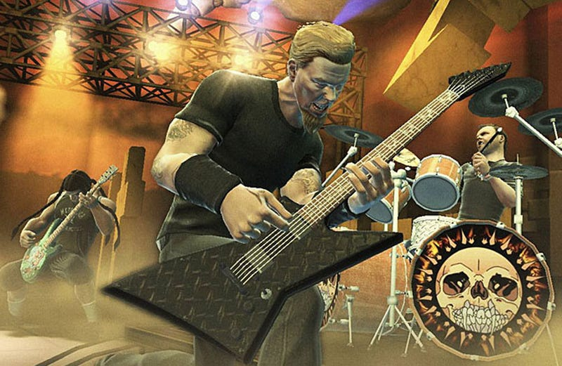 Metallica On Guitar Hero: Metallica
