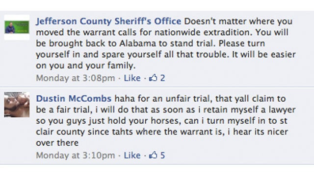 Accused Rapist Trolls Police On Facebook