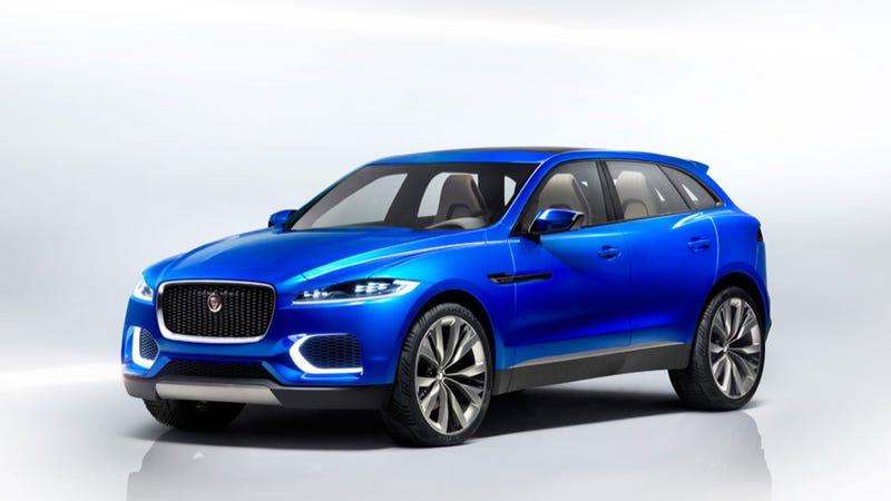 Jaguar CX-17 Concept: This Is More Of It