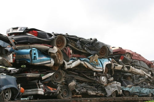 More Cars Junked Than Sold For First Time Since WWII
