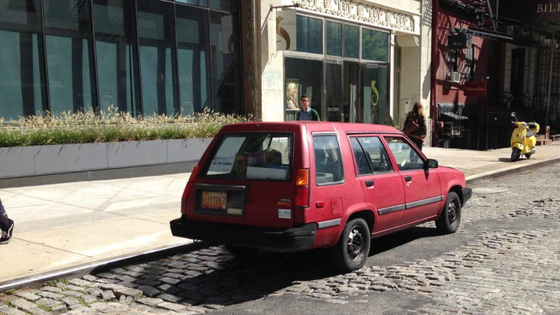 I Drove Jesse Pinkman's Crappy Toyota Tercel From Breaking Bad