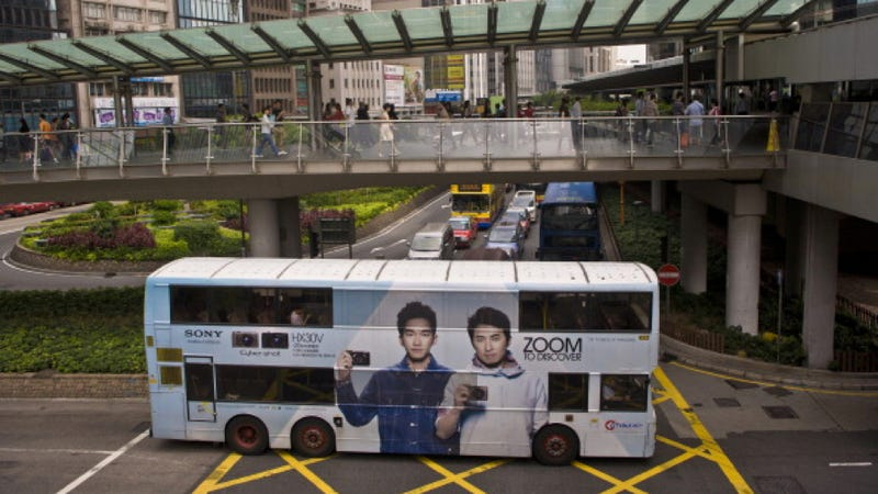 Buses Are Like Movie Stars In Hong Kong