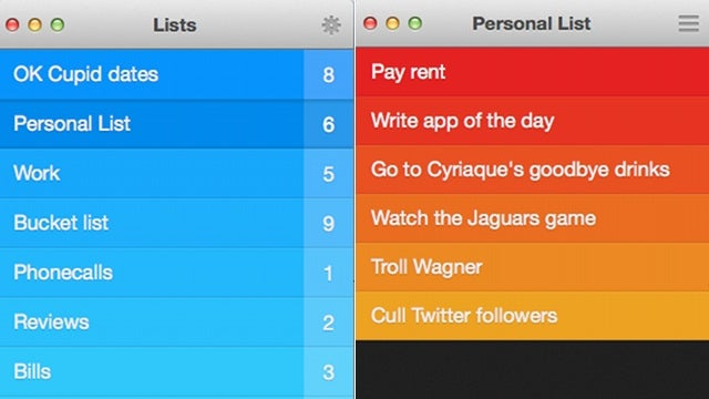 Clear for Mac: The Best iPhone To-Do List Comes to Your Desktop