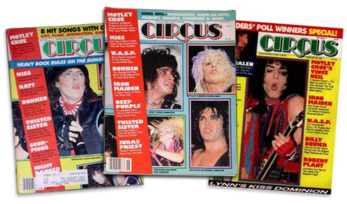 A Love Letter To Circus, The Magazine That Made Me Dirty