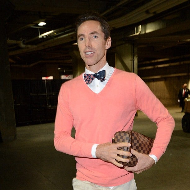 The Time Steve Nash Showed Up For Opening Night Wearing A Bow Tie And Sweater