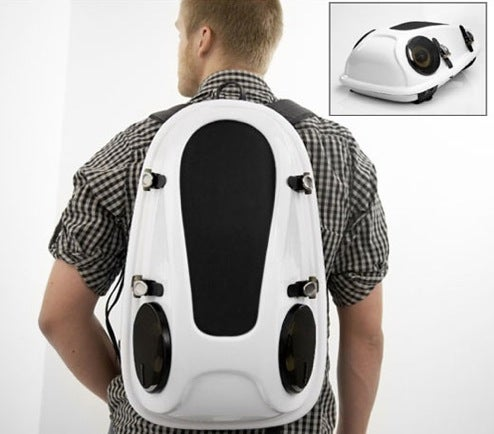 Reppo 2 Boombox Backpack, Easy-Carry Portable Music Action
