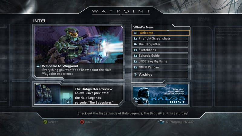 Welcome To Halo Waypoint
