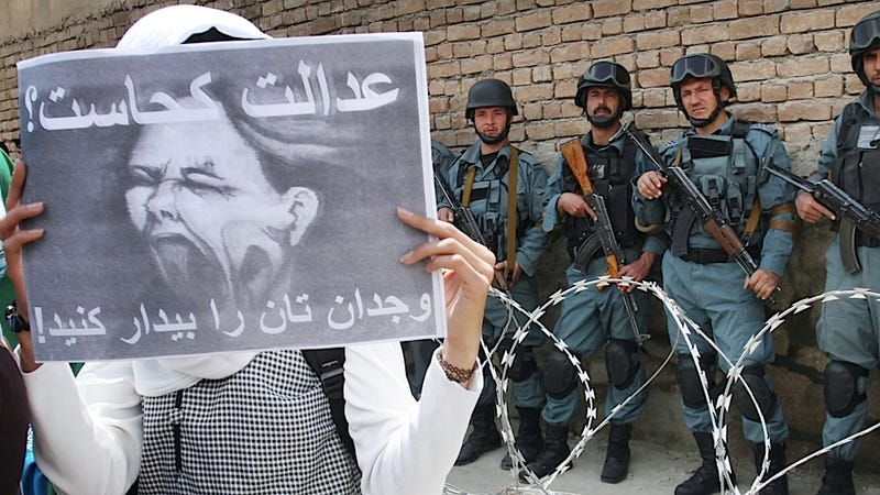 Afghan Women Would Rather Not Give Up Their Human Rights