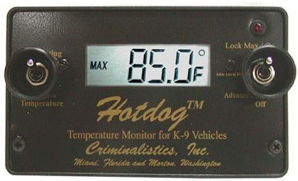 Hot Dog Temperature Alert System for Car Owners too Stupid to Have Pets