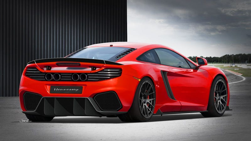 Hennessey Wants To Boost McLaren MP4-12C To 800 HP