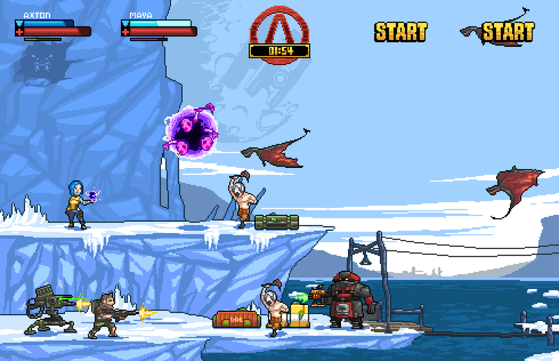 A Retro Borderlands 2 Would Look Rad. Here's Proof.