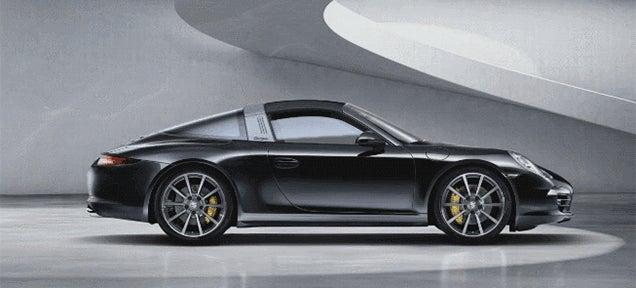 The Porsche 911 Targa hardtop convertible is as cool as any Transformer