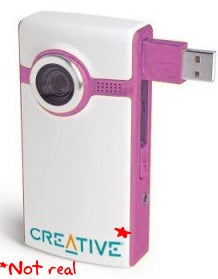 Creative Clones the Flip Camcorder: Why the Hell Are They Calling It Vado?