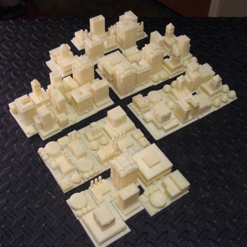 A Tabletop Version of SimCity is Only a 3D Printer Away