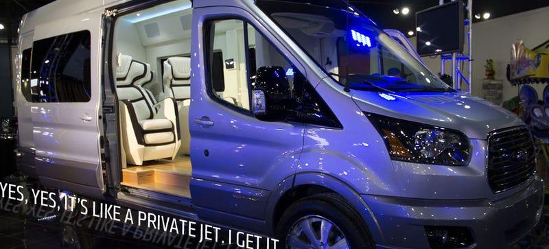 One-Off Transit-Based Skyliner Van Proves Luxury Sedans Are For Chumps