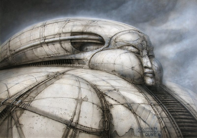 Incredible Concept Art From The Most Amazing Sci-Fi Movie Never Made