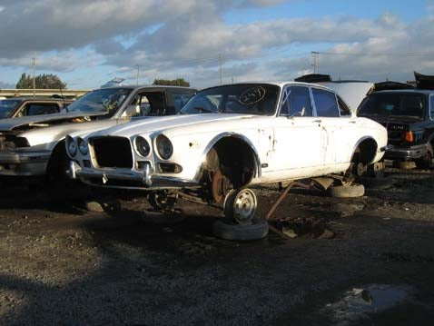 Junkyard Find: 1969 Jaguar XJ6