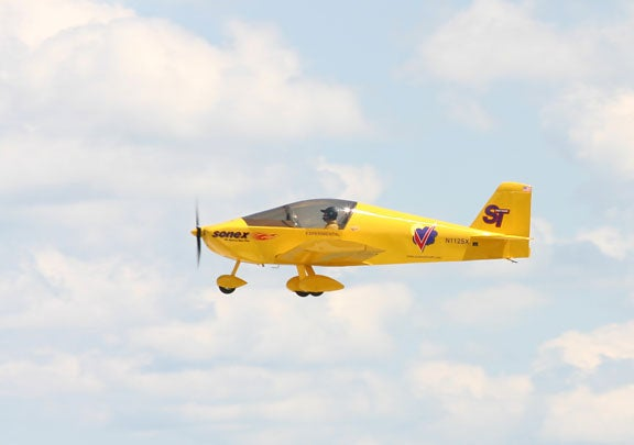 Electric Motor for Sonex Sports Aircraft Cleared for Take-Off
