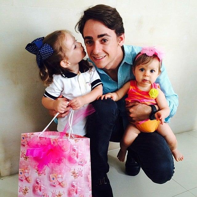 Esteban Gutierrez scares babies