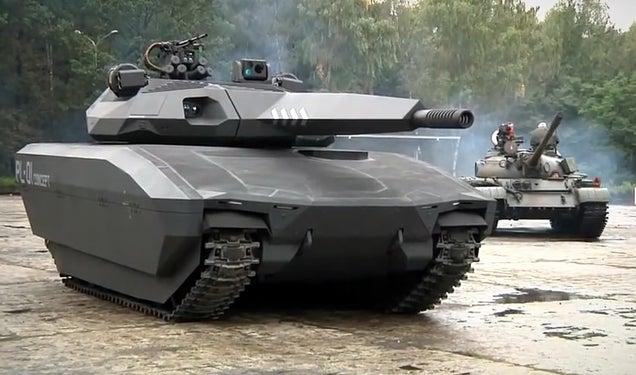 Crean un prototipo de tanque invisible a detección por infrarrojos 658692497561102627