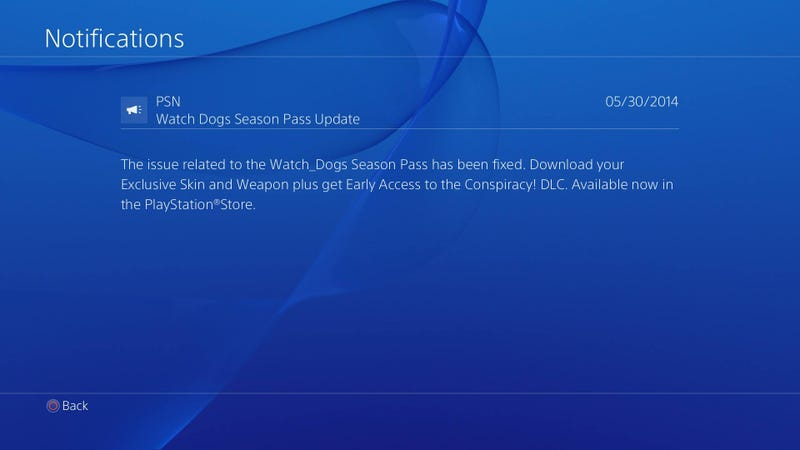 Watch Dogs Uplay and Season Pass Issues Fixed?