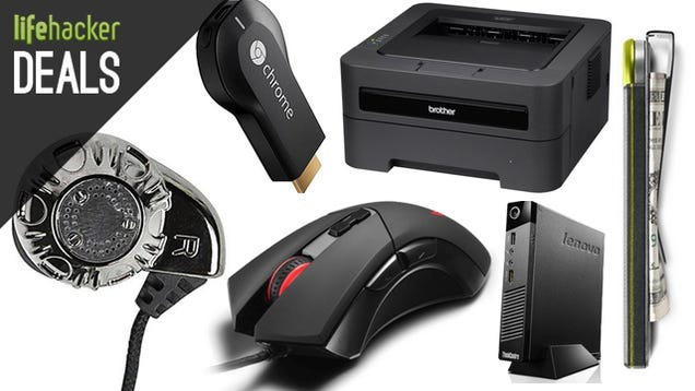 Monoprice's Famous Earbuds, 5TB External, Brother Printer [Deals]
