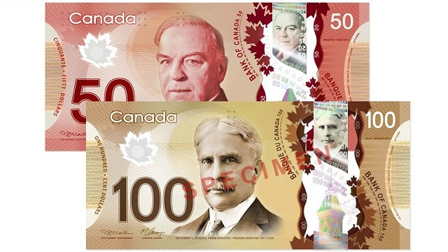 Canada Introduces Plastic Money to Complement Its Loonie Currency