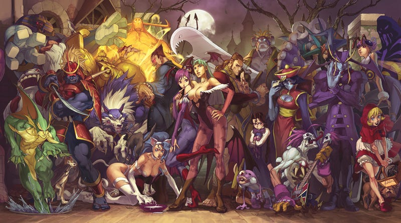 Darkstalkers Return...To Comics
