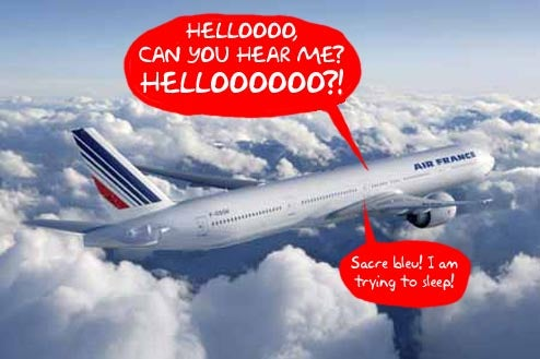 Roll Out Of Air France's In-Flight Cellphone Service Experiences Turbulence