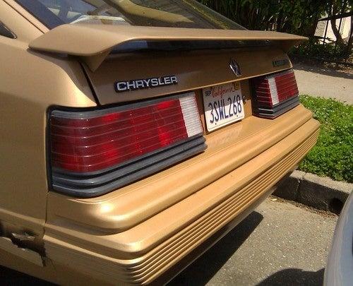 1985 Chrysler Laser XE Down On The Alameda Street