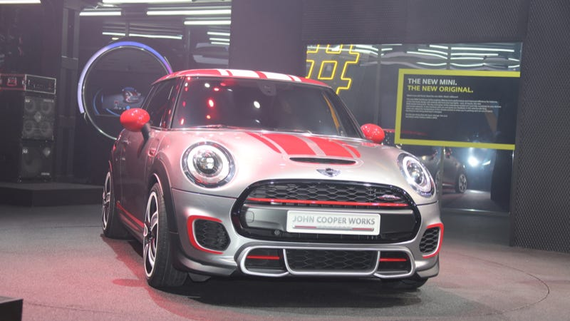 The 2014 Mini John Cooper Works Concept Is Here To Rock And/Or Roll