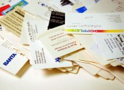 How to make good business cards