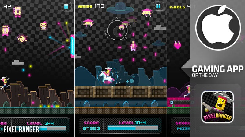 Pixel Ranger For iPhone Is Old School Arcade Action Getting By On Good Looks & Charm