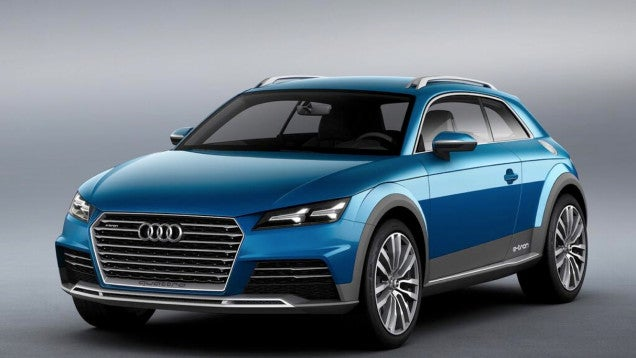 The Audi TT Might Be Coming In All Sorts Of Crazy Flavors Pretty Soon