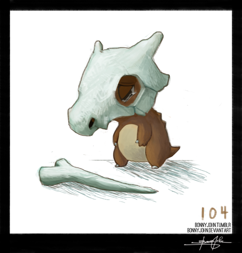Crying is Not Optional - Cubone! Pokemon One a Day!