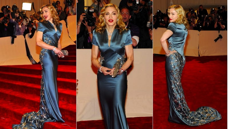 Madonna Says She Felt Fat At The Met Ball