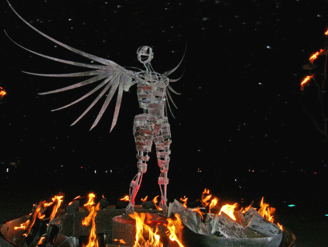 Burning Man 2008 Preview: Hippies, Robots, Crazy Cars and Flaming Fine Art