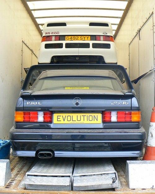 Best Barn Find Ever Gets Better: Mercedes 190 E 2.5-16 Evolution II