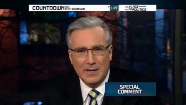 Keith Olbermann Issues Special 'Special Comment' in Response to Secret Mitt Romney Tape