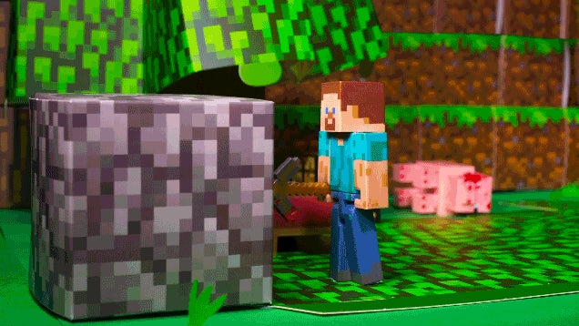 Minecraft's Main Character Is Kind of A Jerk