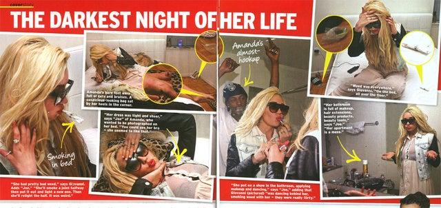 Amanda Bynes Insists Drug Den Pix Were Fake: 'Those Aren't My Toes!'