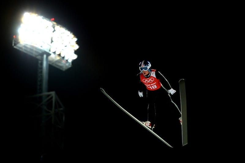 Olympic Ski Jumping Makes For Some Cool And Trippy Photos