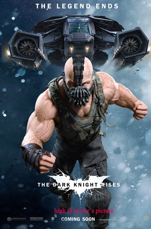New Dark Knight Posters, Concept Art