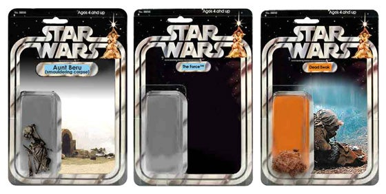 Star Wars Figures that Didn't Make the Cut (Verdict: George, Make These. Now.)