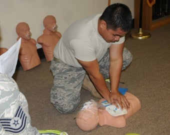 Start Chest Compressions Immediately, Don't Worry About Breaths in Performing CPR