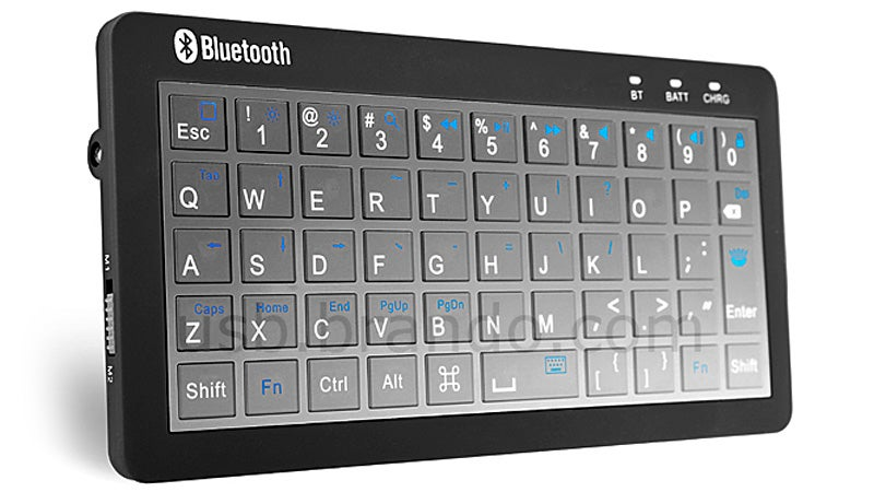 A Bluetooth Keyboard With a Backup Battery or Vice Versa?